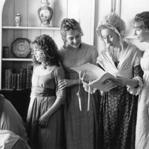Still of Emma Thompson Kate Winslet Emilie Franois and Gemma Jones in Sense and Sensibility 1995