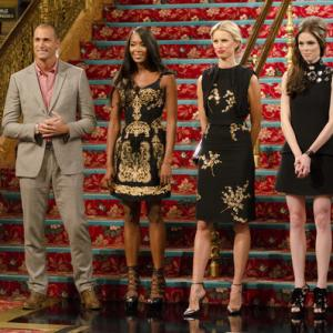 Still of Naomi Campbell Karolina Kurkova Nigel Barker Coco Rocha and Walter Sassard in The Face 2013