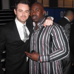 Me and Danny Dyer at DEAD MAN RUNNING Premiere