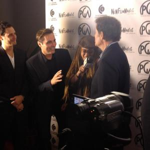 On the Red Carpet at the 2012 Producers Guild of America Weekend Sorts Awards