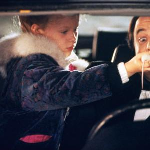 Still of Thora Birch and Kevin Nealon in All I Want for Christmas (1991)