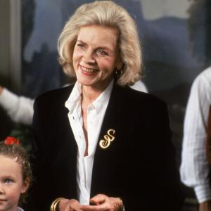 Still of Lauren Bacall, Thora Birch and Ethan Embry in All I Want for Christmas (1991)