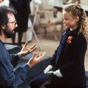 Thora Birch and Robert Lieberman in All I Want for Christmas (1991)