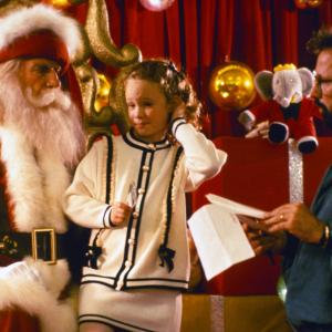 Thora Birch, Leslie Nielsen and Robert Lieberman in All I Want for Christmas (1991)