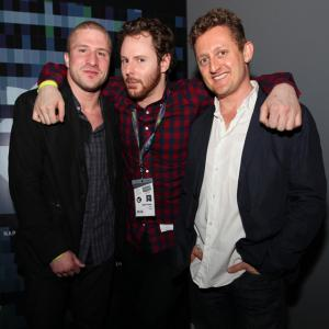 Alex Winter, Shawn Fanning, Sean Parker