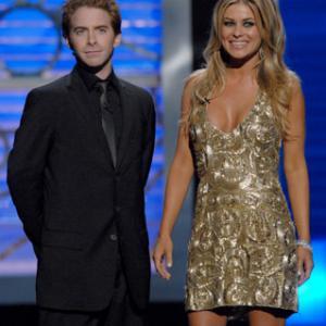 Carmen Electra and Seth Green
