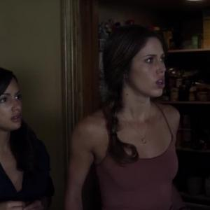 Still of Brittney Alger and Kayla Ewell in The Demented (2013)