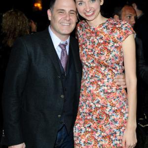 with Matthew Weiner at TIFF
