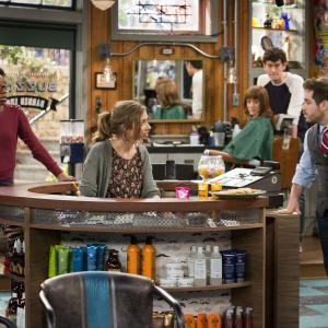 Still of Ashley Tisdale, Ryan Pinkston, Lauren Lapkus, Mike Castle and Diona Reasonover in Clipped (2015)