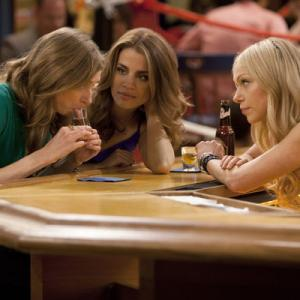 Still of Laura Prepon, Lauren Lapkus and Natalie Morales in Are You There, Chelsea? (2012)