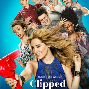 George Wendt, Ashley Tisdale, Ryan Pinkston, Lauren Lapkus, Matt Cook, Mike Castle and Diona Reasonover in Clipped (2015)