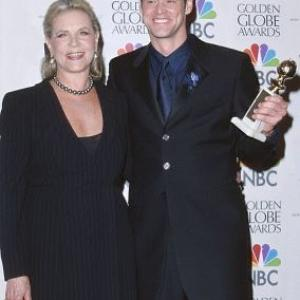 Lauren Bacall and Jim Carrey