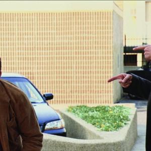 Still of Jim Carrey and John Michael Higgins in Yes Man 2008