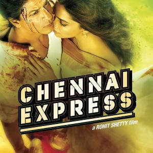 Shah Rukh Khan and Deepika Padukone in Chennai Express 2013
