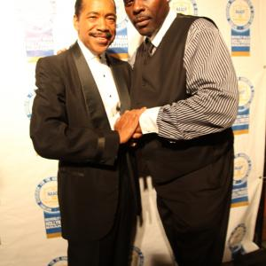 David Terrell and Obba Babatunde at the 2011 NAACP Theatre Awards