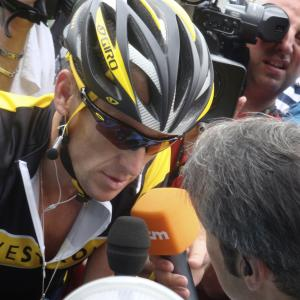 Still of Lance Armstrong in Armstrongo melas (2013)
