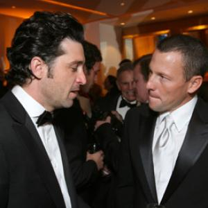 Patrick Dempsey and Lance Armstrong at event of The 79th Annual Academy Awards (2007)
