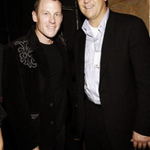 Lance Armstrong and Cal Ripken at event of 2005 American Music Awards (2005)