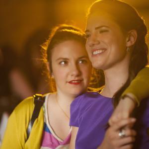 Still of Lena Dunham and Allison Williams in Girls 2012