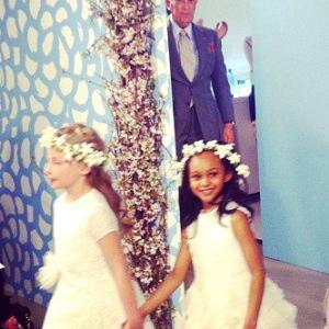 Oscar De La Renta 2014 Spring Bridal Show