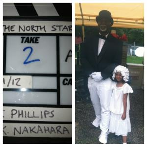 ON SET OF THE