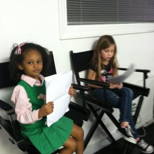 ON THE SET BOOK VIDEO (NERDS AND BULLIES)