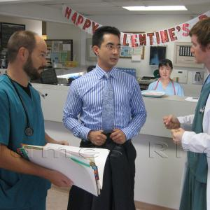 Production photo from the Untold Stories of the ER Season 5 Episode 5 Minutes to Live Original Air Date  December 8 2010