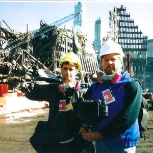 Douglas Wester on location for Ground Zero Badge of Honor