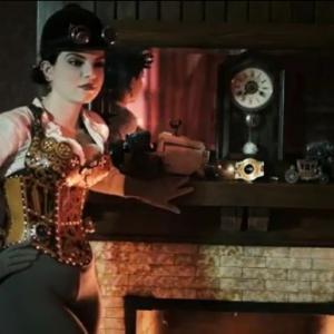 Still photo from The Janus Affair book trailer