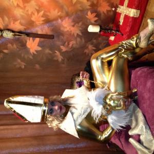 Beth Katehis LadyBeth as Pope JoanII in The Film Pink Smoke!
