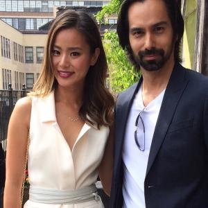 Jamie Chung and Mack Kuhr at the Olevolos Project Benefit Event in NYC