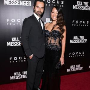Mack Kuhr and Kyla Gray attend the NYC premiere for Kill The Messenger