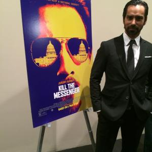 Mack Kuhr at the NYC premiere for Kill The Messenger