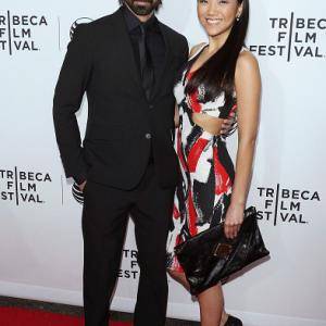 Mack Kuhr and Kyla Gray attend the Opening Night Red Carpet for the Tribeca Film Festival