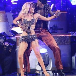 Still of Ron Artest and Peta Murgatroyd in Dancing with the Stars 2005