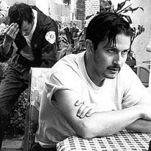 Jason London and Todd Field in Broken Vessels 1998