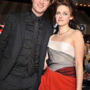 Kristen Stewart and Robert Pattinson at event of Twilight 2008