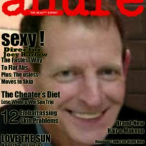 Joey Harlow makes cover of Allure Magazine