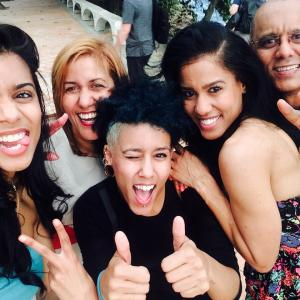 with her family in Jetblues touching minidocumentary project Un Sabor de Casa  A Taste of Home