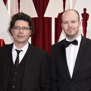 Michael Lennox and Ronan Blaney at event of The Oscars 2015