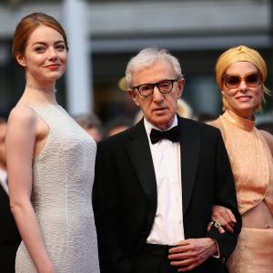 Woody Allen Parker Posey and Emma Stone at event of Neracionalus zmogus 2015