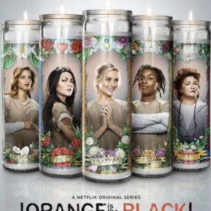 Kate Mulgrew, Laura Prepon, Taylor Schilling, Uzo Aduba and Dascha Polanco in Orange Is the New Black (2013)