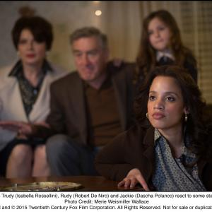 Still of Robert De Niro, Isabella Rossellini and Dascha Polanco in Joy (2015)