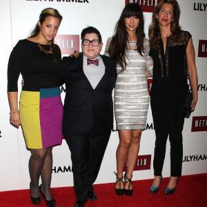 Lea DeLaria, Alysia Reiner, Jackie Cruz and Dascha Polanco at event of Lilyhammer (2012)