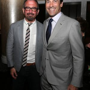Jon Hamm and Andrew Jarecki
