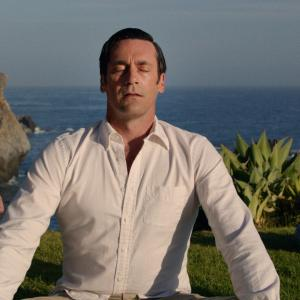 Still of Jon Hamm in MAD MEN. Reklamos vilkai (2007)