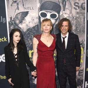 Courtney Love, Brett Morgen, Frances Bean Cobain