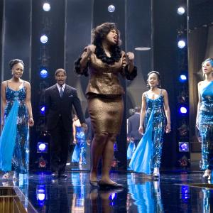 Still of Jamie Foxx Beyonc Knowles Sharon Leal Keith Robinson Anika Noni Rose and Jennifer Hudson in Dreamgirls 2006