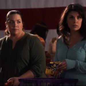 With Maria Pendolino on Army Wives Season 6
