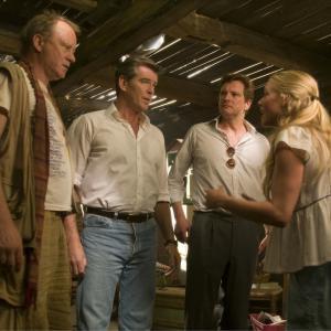Still of Pierce Brosnan, Colin Firth, Stellan Skarsgård and Amanda Seyfried in Mamma Mia! (2008)